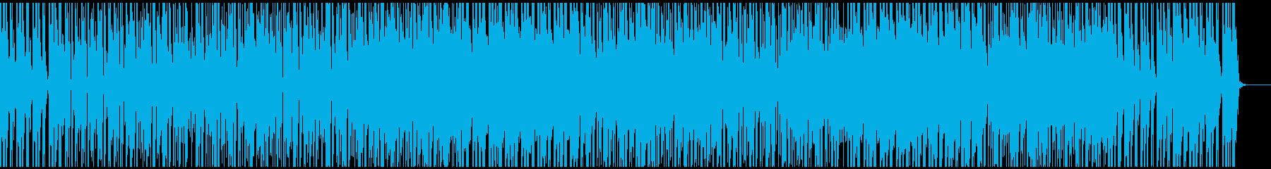 Hハンターズを想起させるファンキーな曲の再生済みの波形