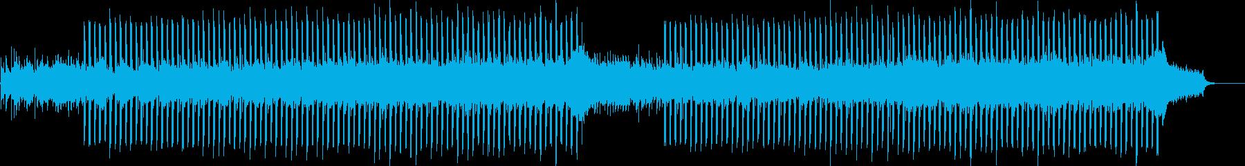企業VP系25、爽やかギター4つ打ち4aの再生済みの波形
