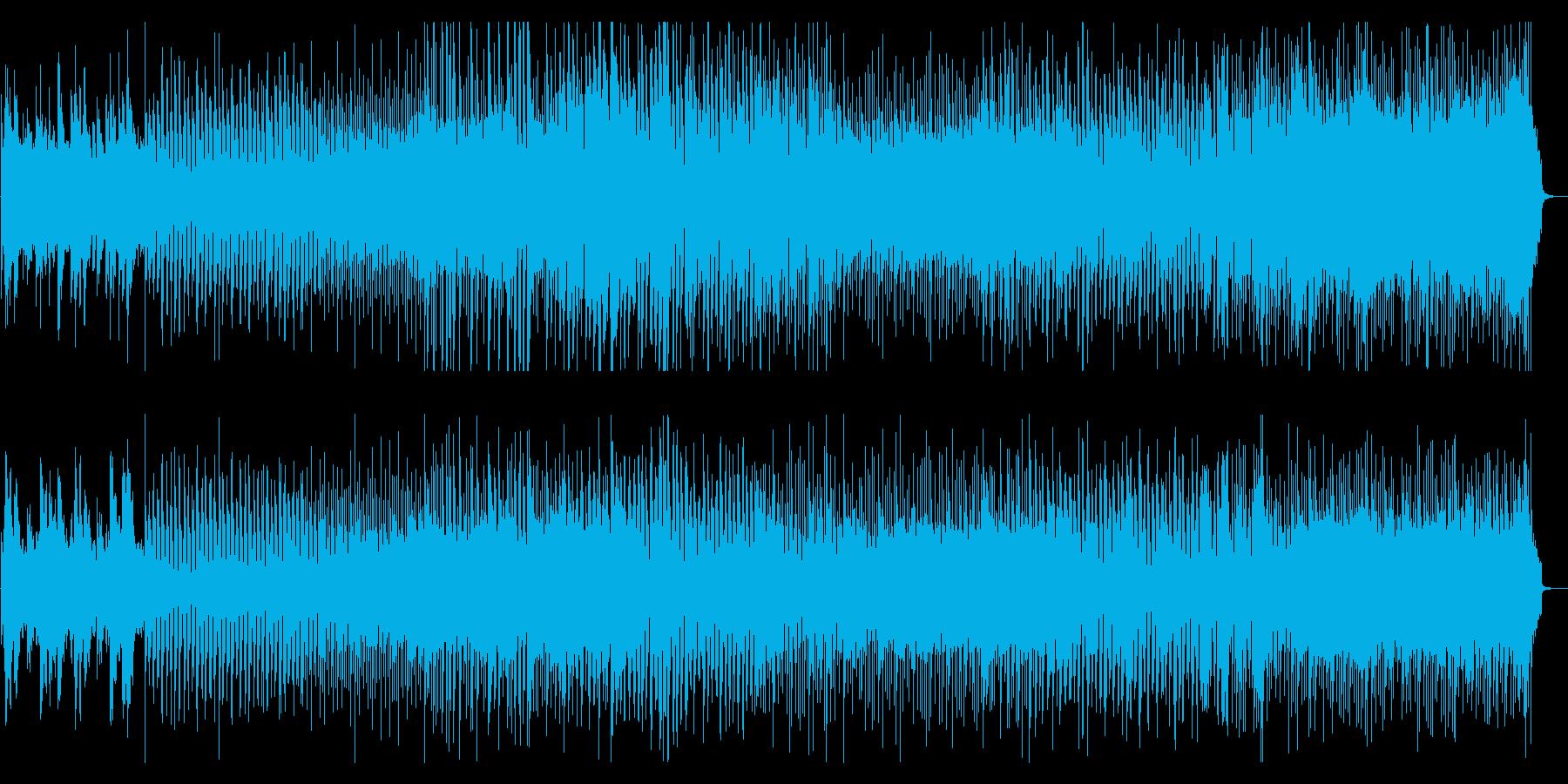 『心のクリーニング』明るく前向きポップスの再生済みの波形