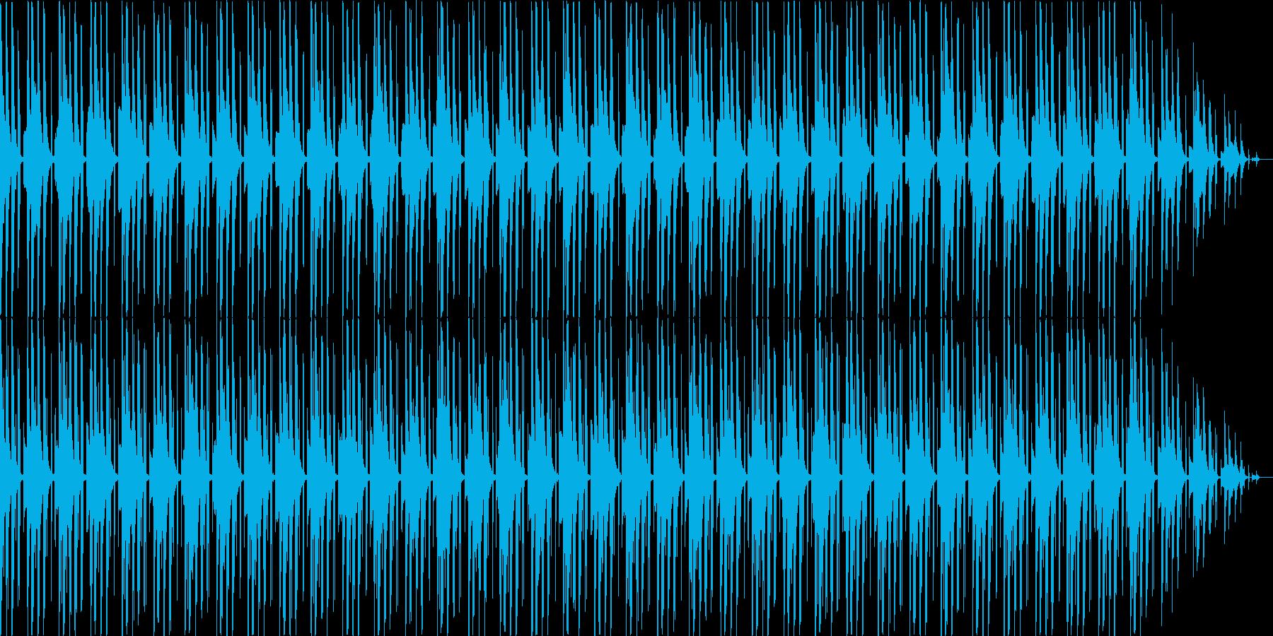 VP・日常シーンに 少しコミカルなテクノの再生済みの波形
