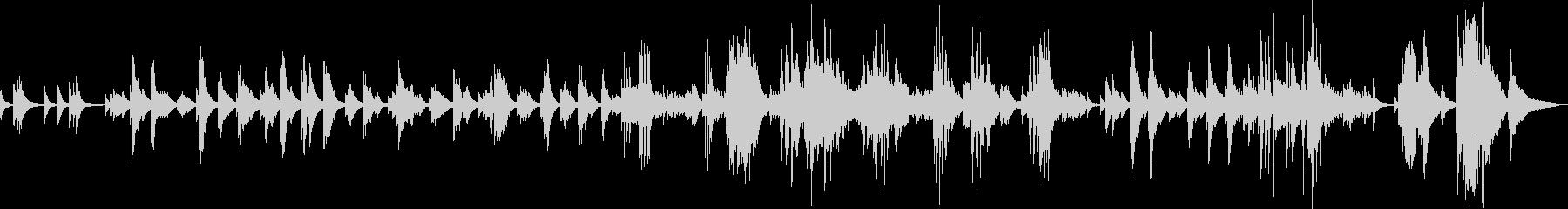 悲しみの果て(ピアノ・切ない・しっとり)の未再生の波形