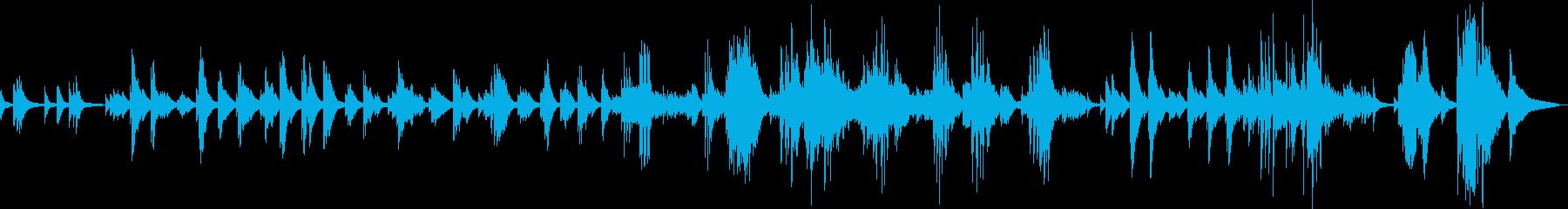 悲しみの果て(ピアノ・切ない・しっとり)の再生済みの波形