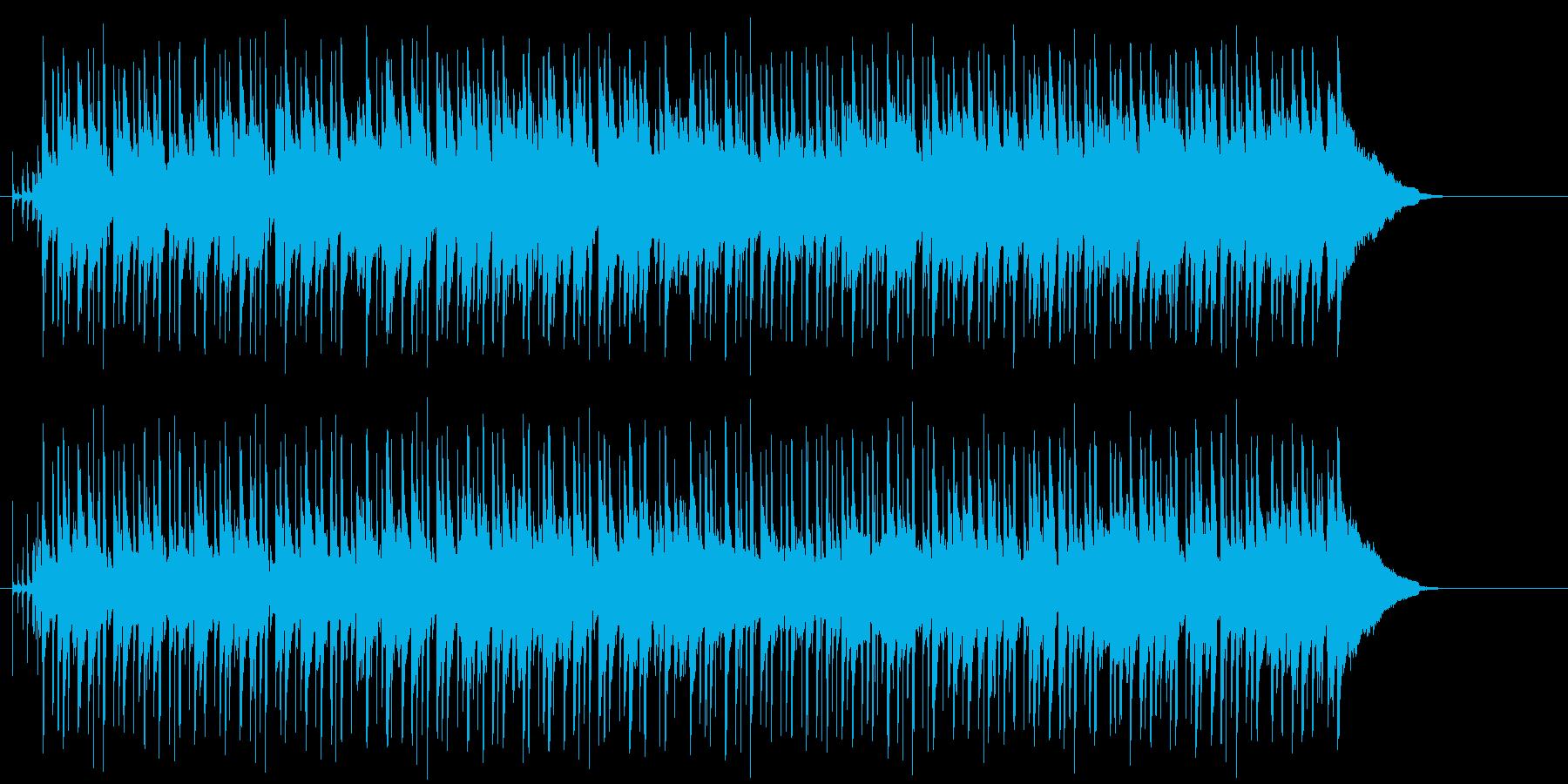午後の楽しいひとときを過ごす様なボサノバの再生済みの波形