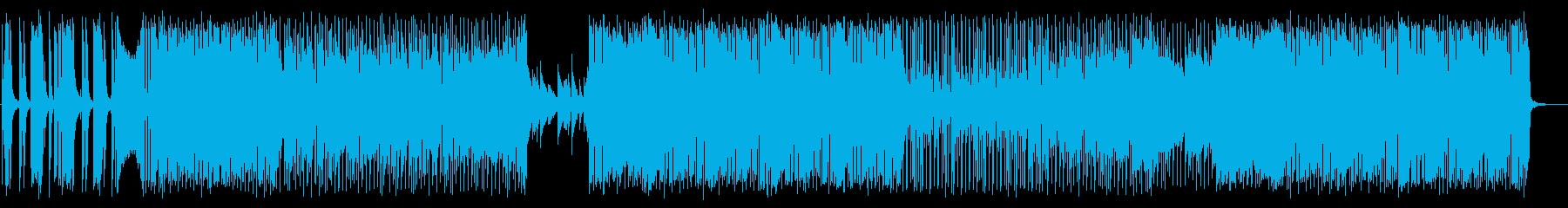 爽やかSKAチューンのJPOP曲、夏的なの再生済みの波形