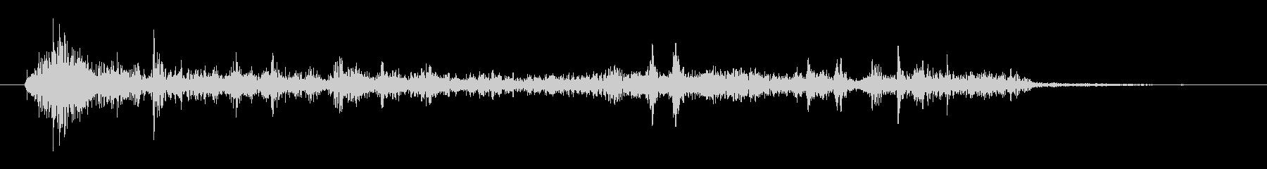 ノイズ ローファイランダムネス01の未再生の波形