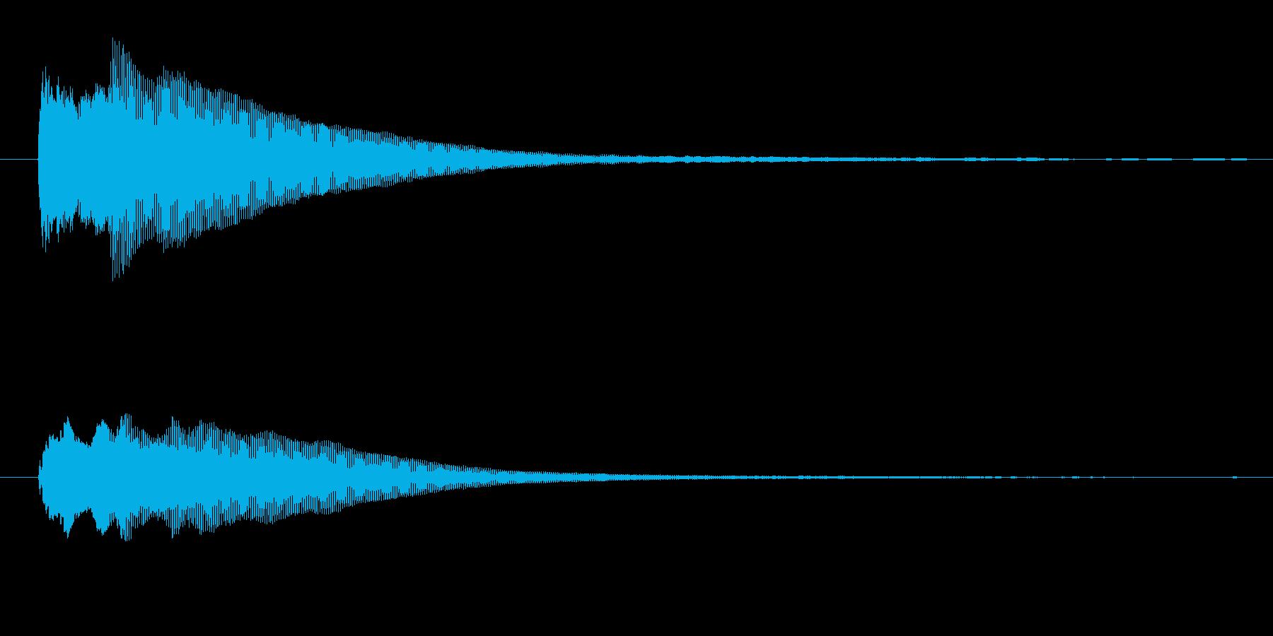 ひらめき ソレの再生済みの波形