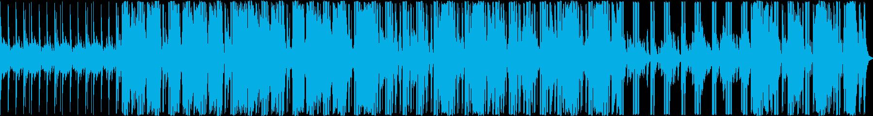 electronicaですの再生済みの波形