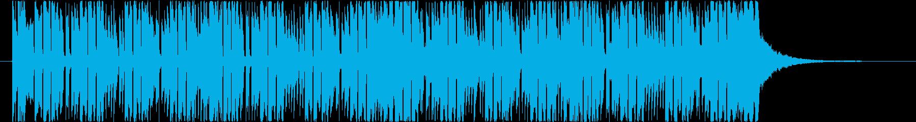 遊び心と透明感あふれるEDMの再生済みの波形