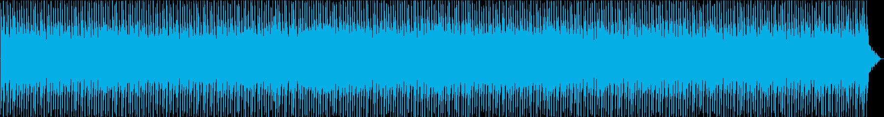 ダウンテンポでダークなテクノの再生済みの波形