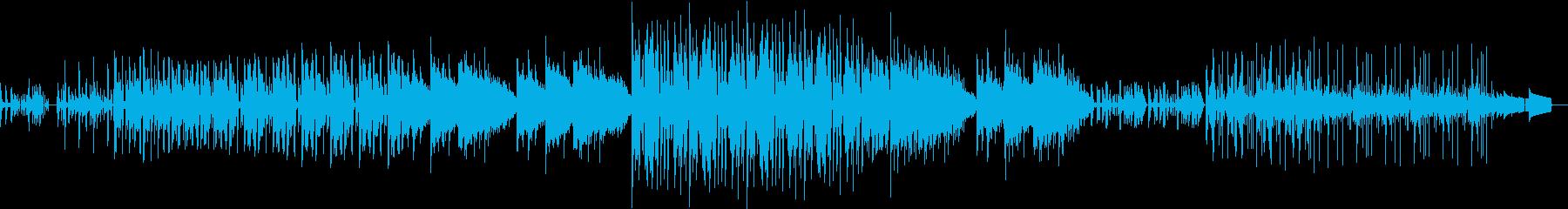 ドキドキワクワクする感じのエレクトロですの再生済みの波形