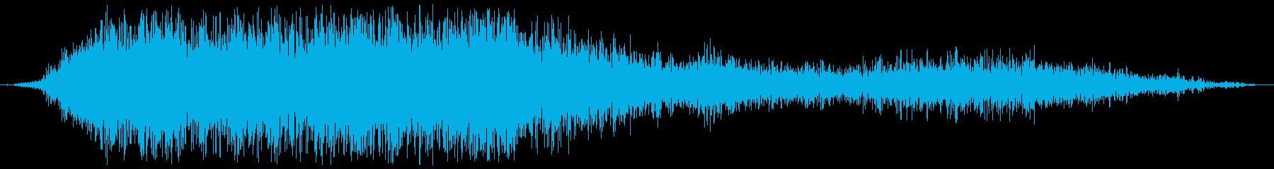 大規模なサブスペースALIEN D...の再生済みの波形