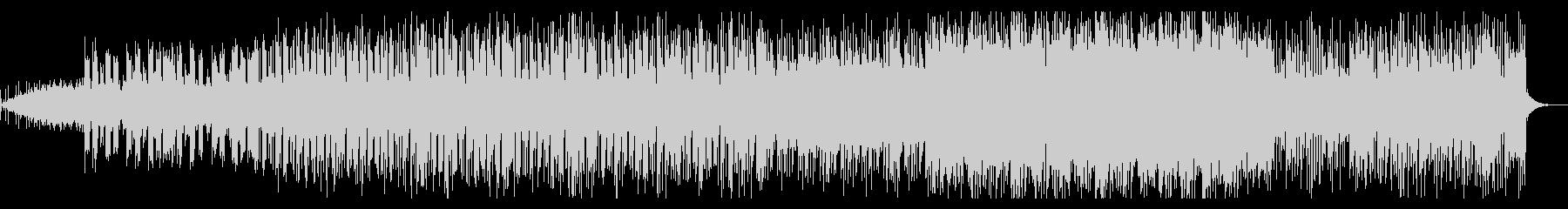 ピアノとブレイクビーツのシンセ系BGMの未再生の波形