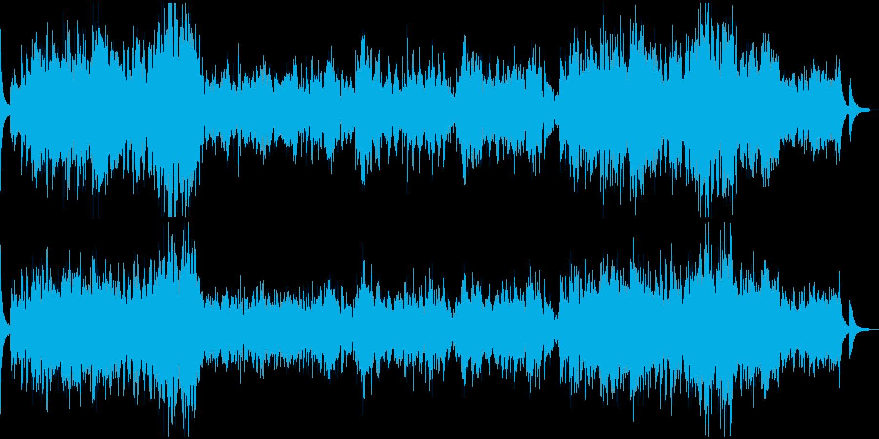 ピアノ名曲ショパン 幻想即興曲の再生済みの波形