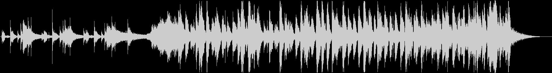 オシャレで軽快なピアノJAZZトリオの未再生の波形