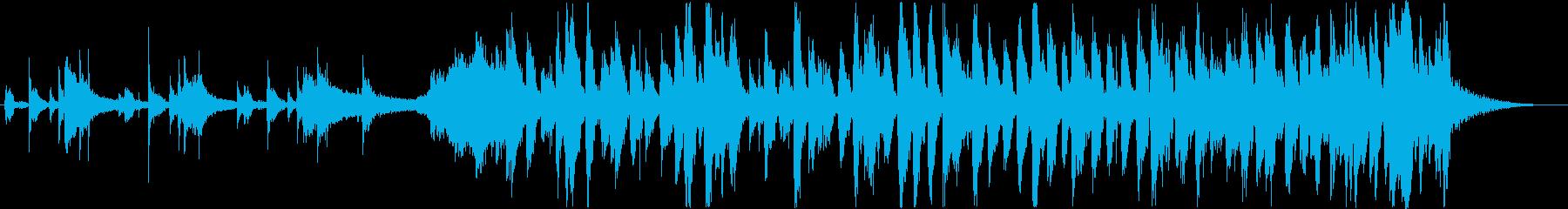 オシャレで軽快なピアノJAZZトリオの再生済みの波形