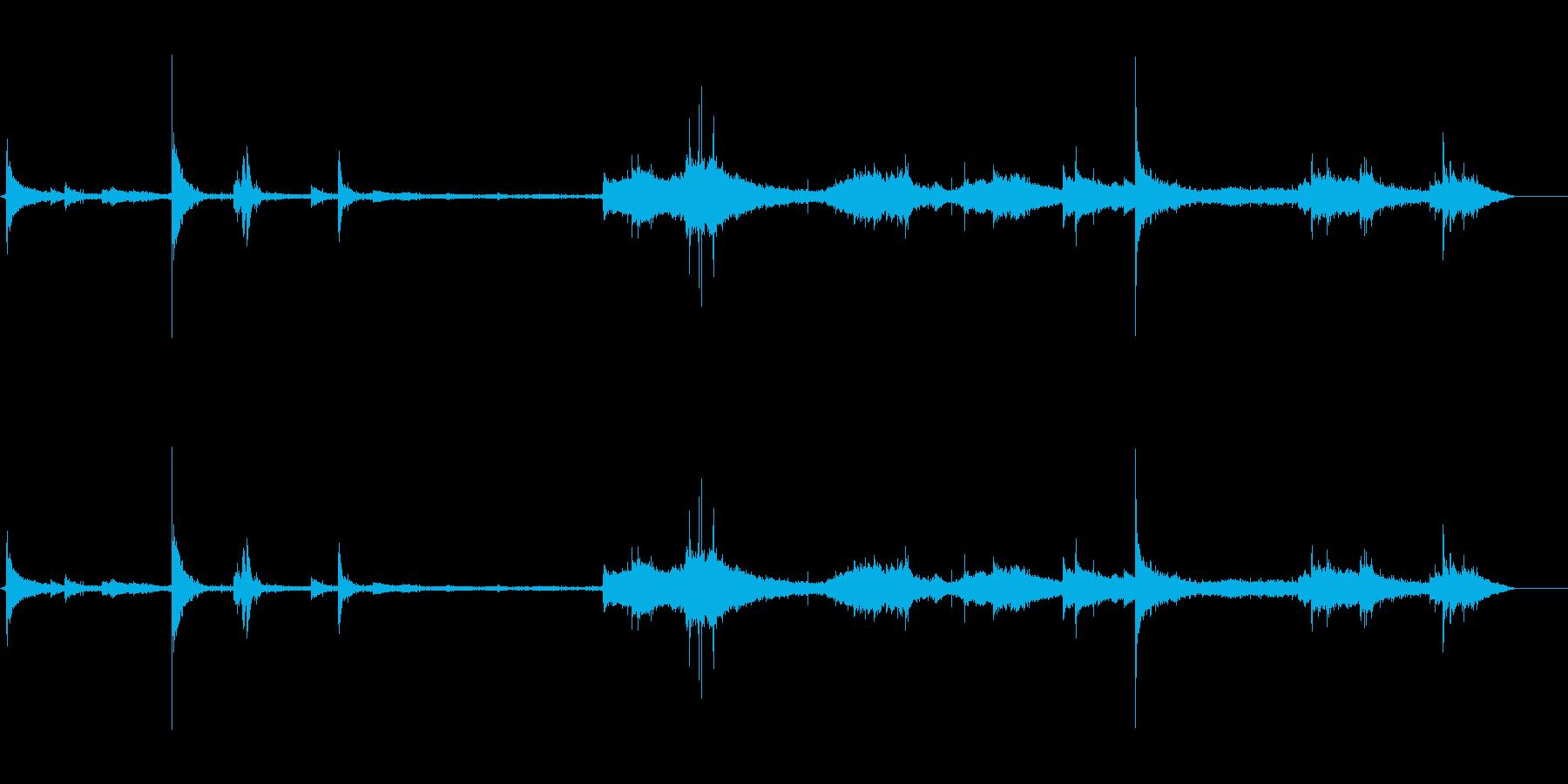 イルカ-屋内プール1の再生済みの波形