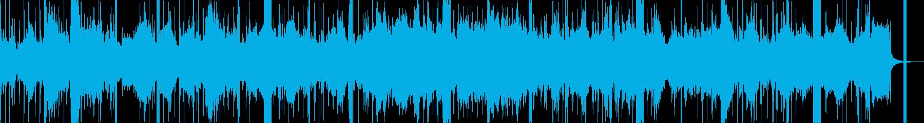 【アンビエント】 データの中の世界観の再生済みの波形