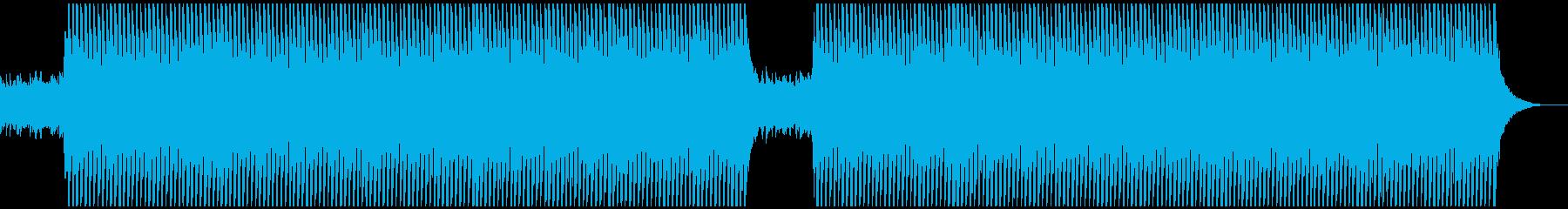 企業VP:アコギ、ピアノ、4つ打ち、爽やの再生済みの波形