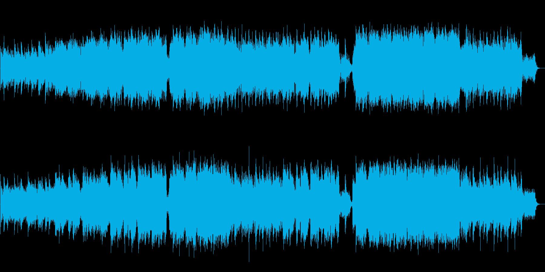 和楽器!紀行番組エンディング感動バラードの再生済みの波形