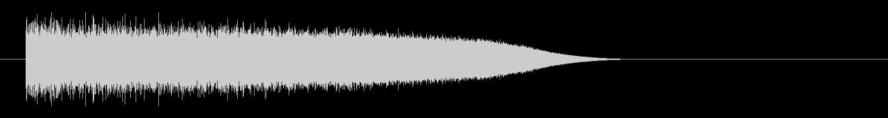 レーザー音-84-3の未再生の波形