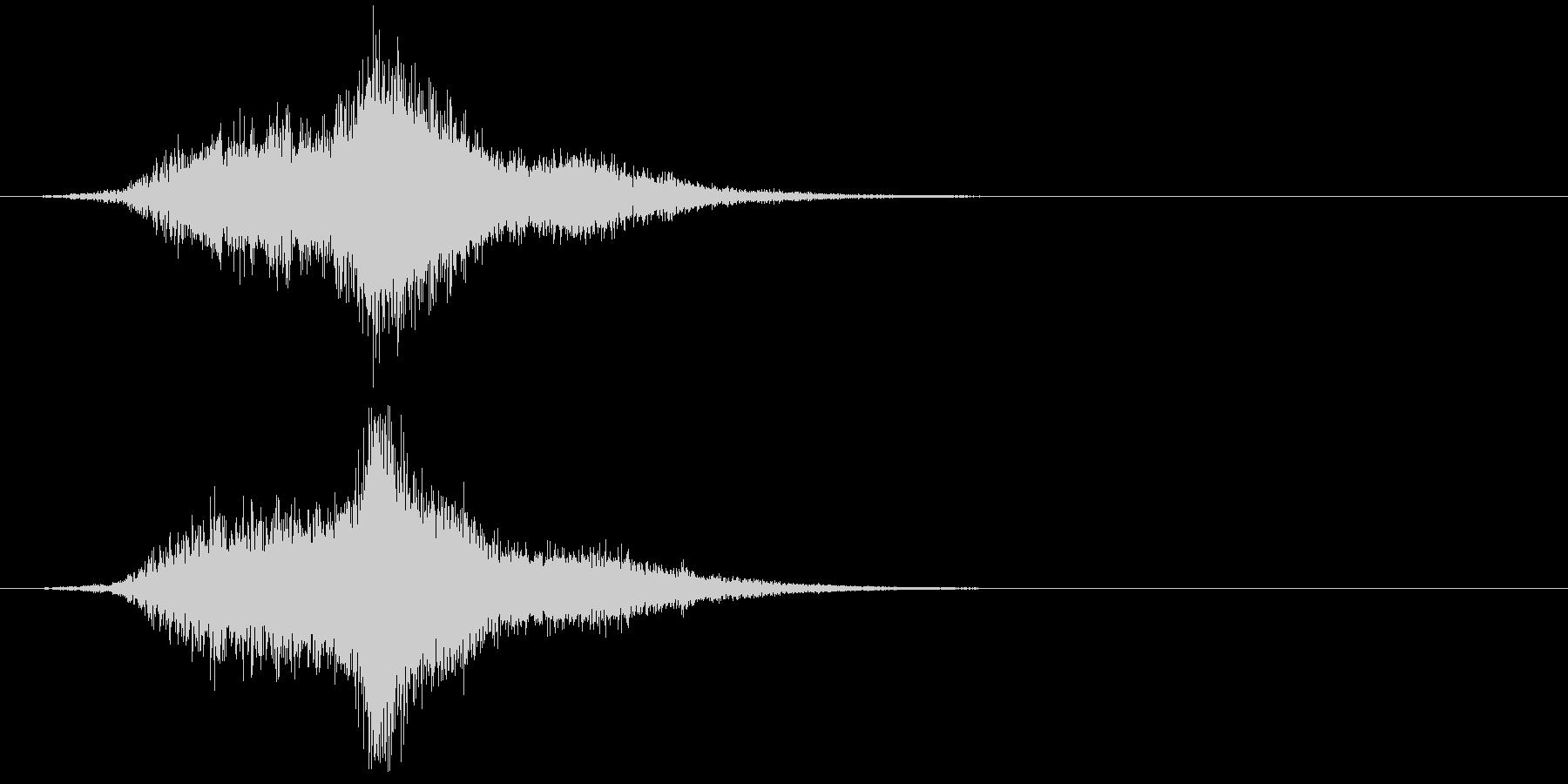 低音メタリックチャイム、リバーブで...の未再生の波形