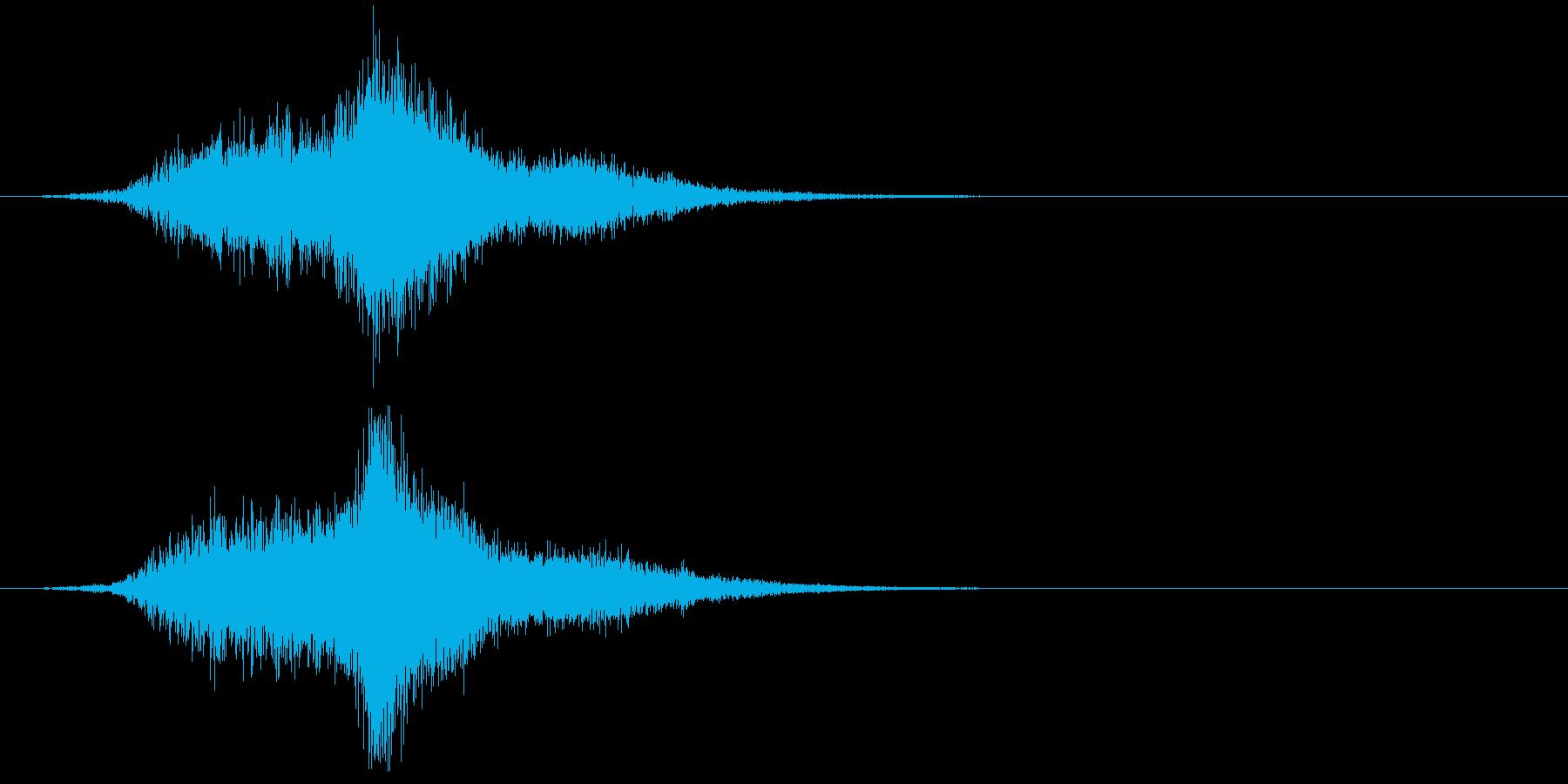 低音メタリックチャイム、リバーブで...の再生済みの波形