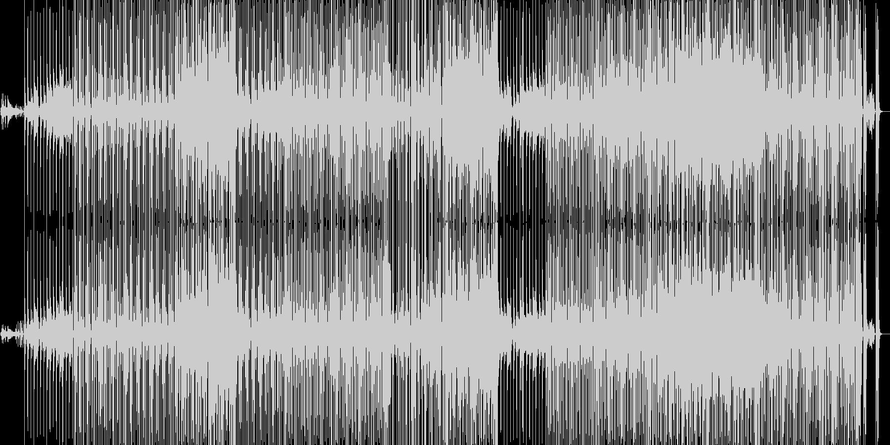 エンタメショー風ヒップホップインストの未再生の波形