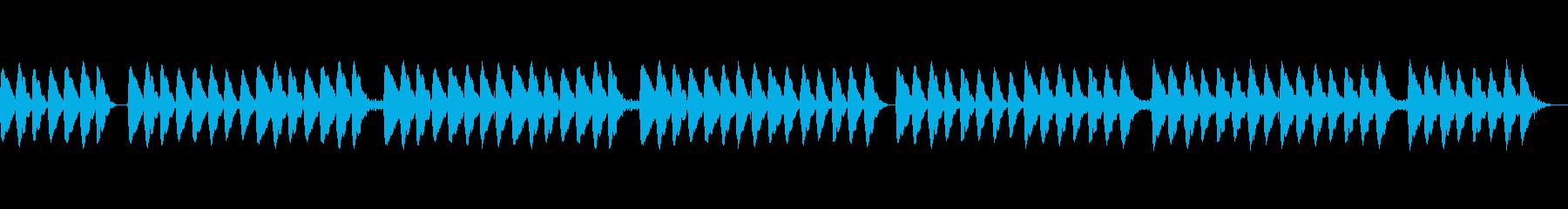 ママの子守唄のようなヒーリング音楽の再生済みの波形