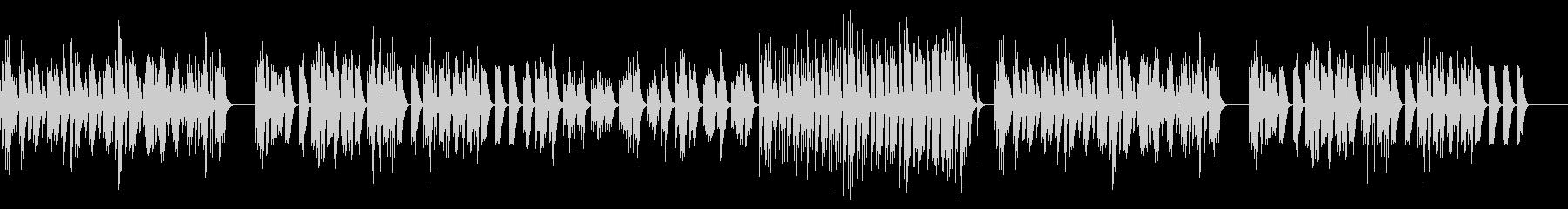 lo-fi風ピアノバラードの未再生の波形