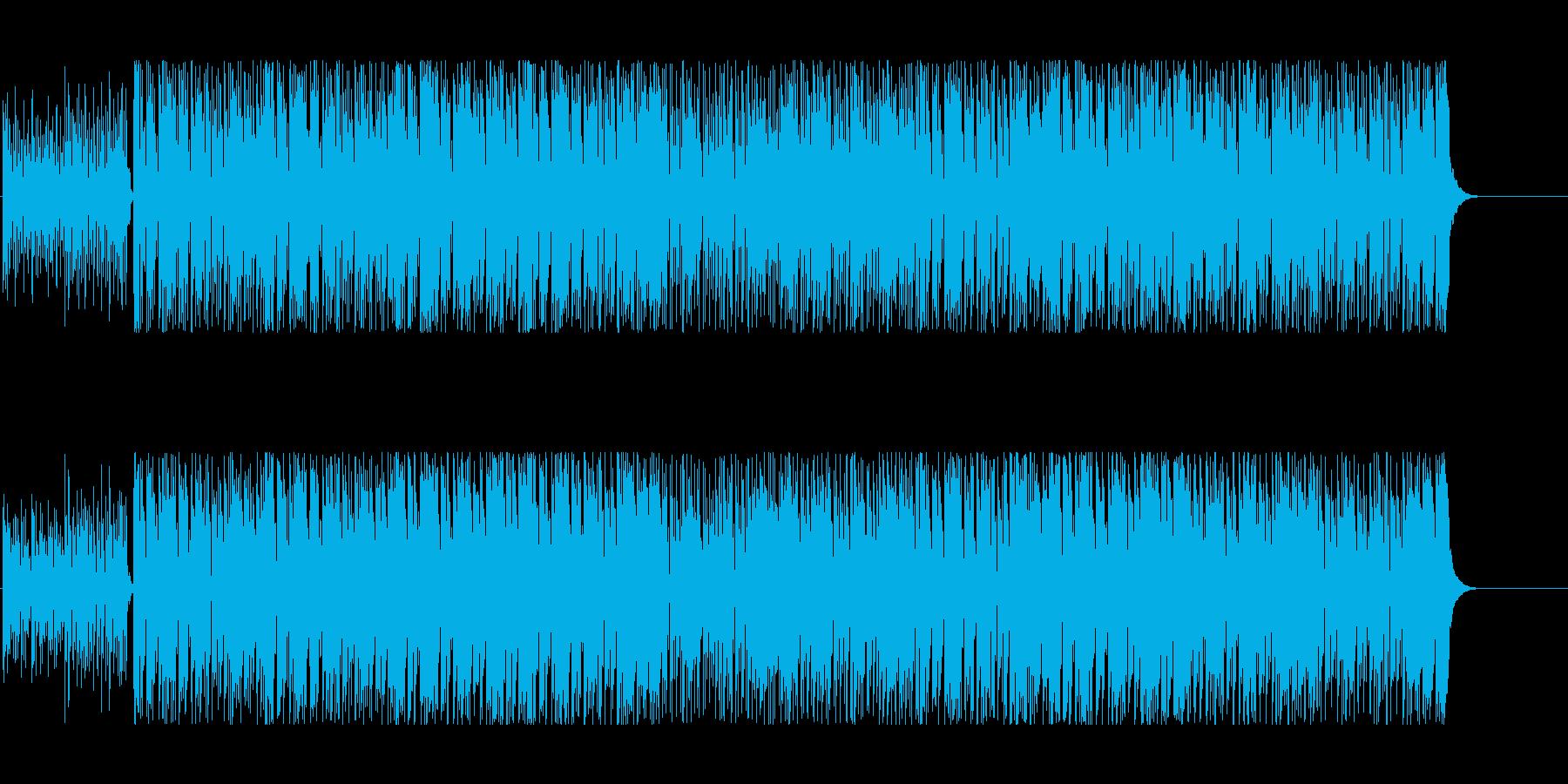 軽快 さわやか 元気 楽しい いきいきの再生済みの波形