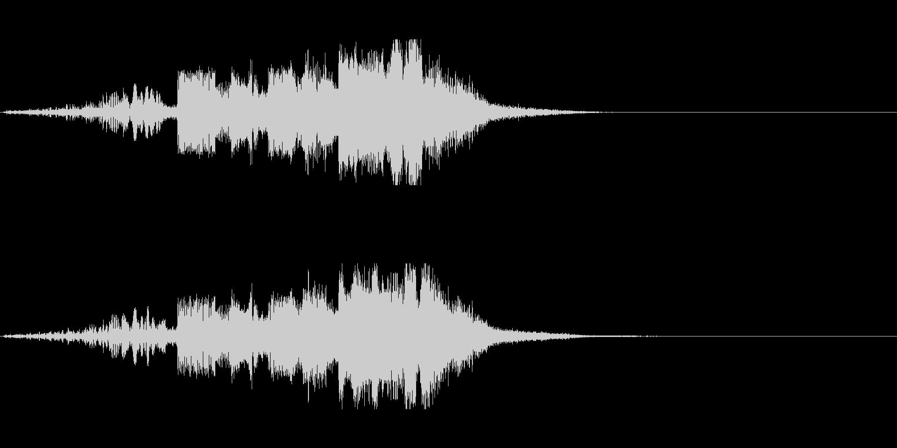 FMジングル制作にピッタリなSEの未再生の波形