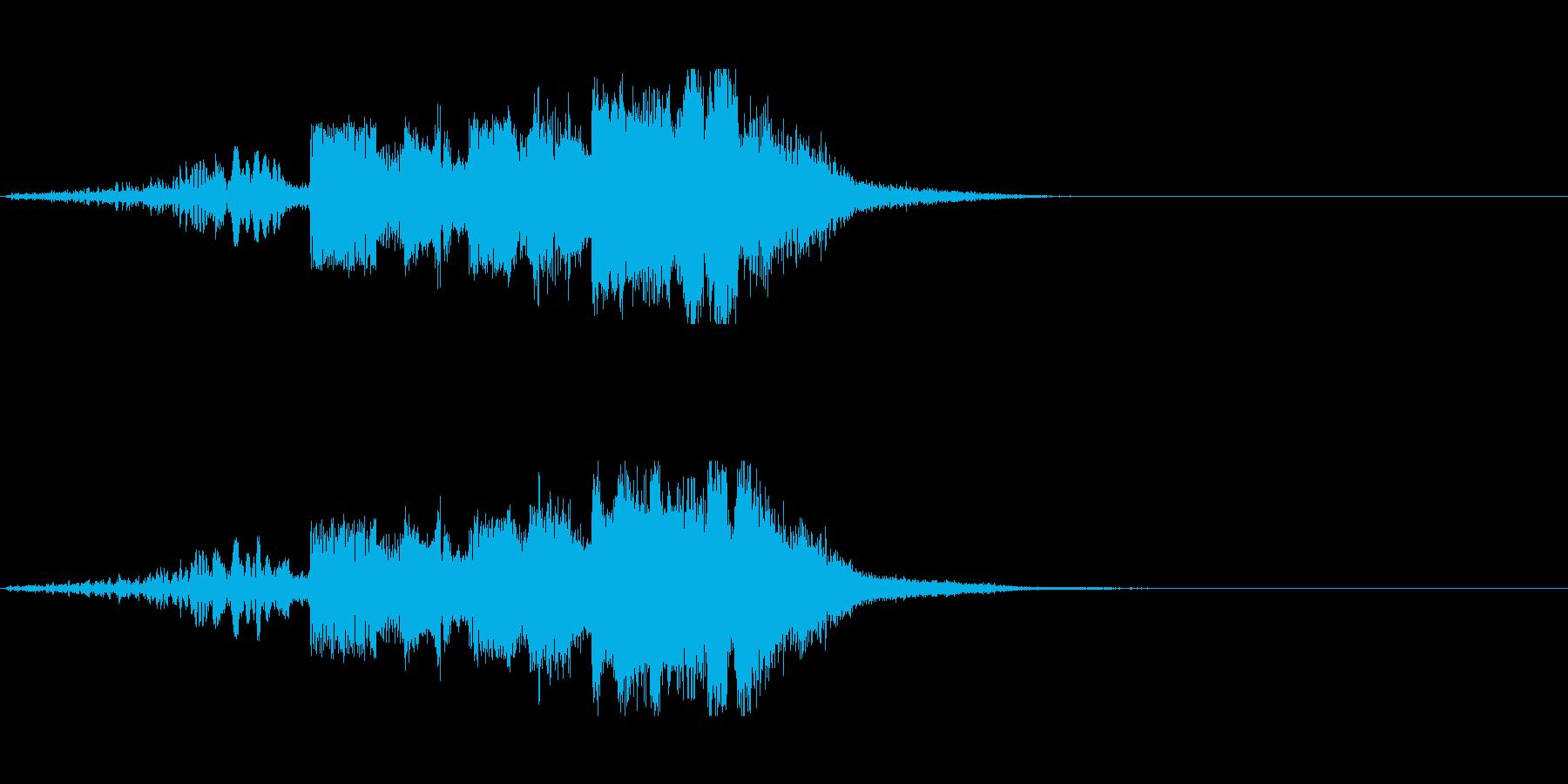 FMジングル制作にピッタリなSEの再生済みの波形
