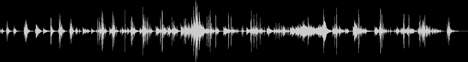 繊細で切ないピアノ曲(悲しい・儚い)の未再生の波形