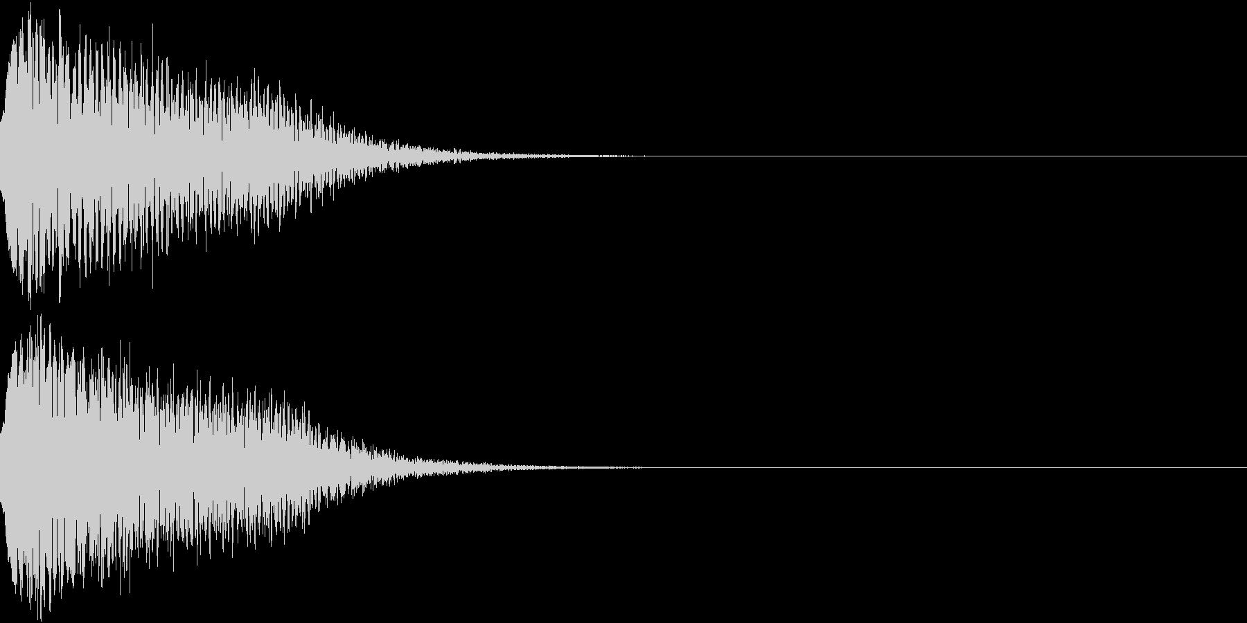 光る キュイーン ピカーン キラン 11の未再生の波形