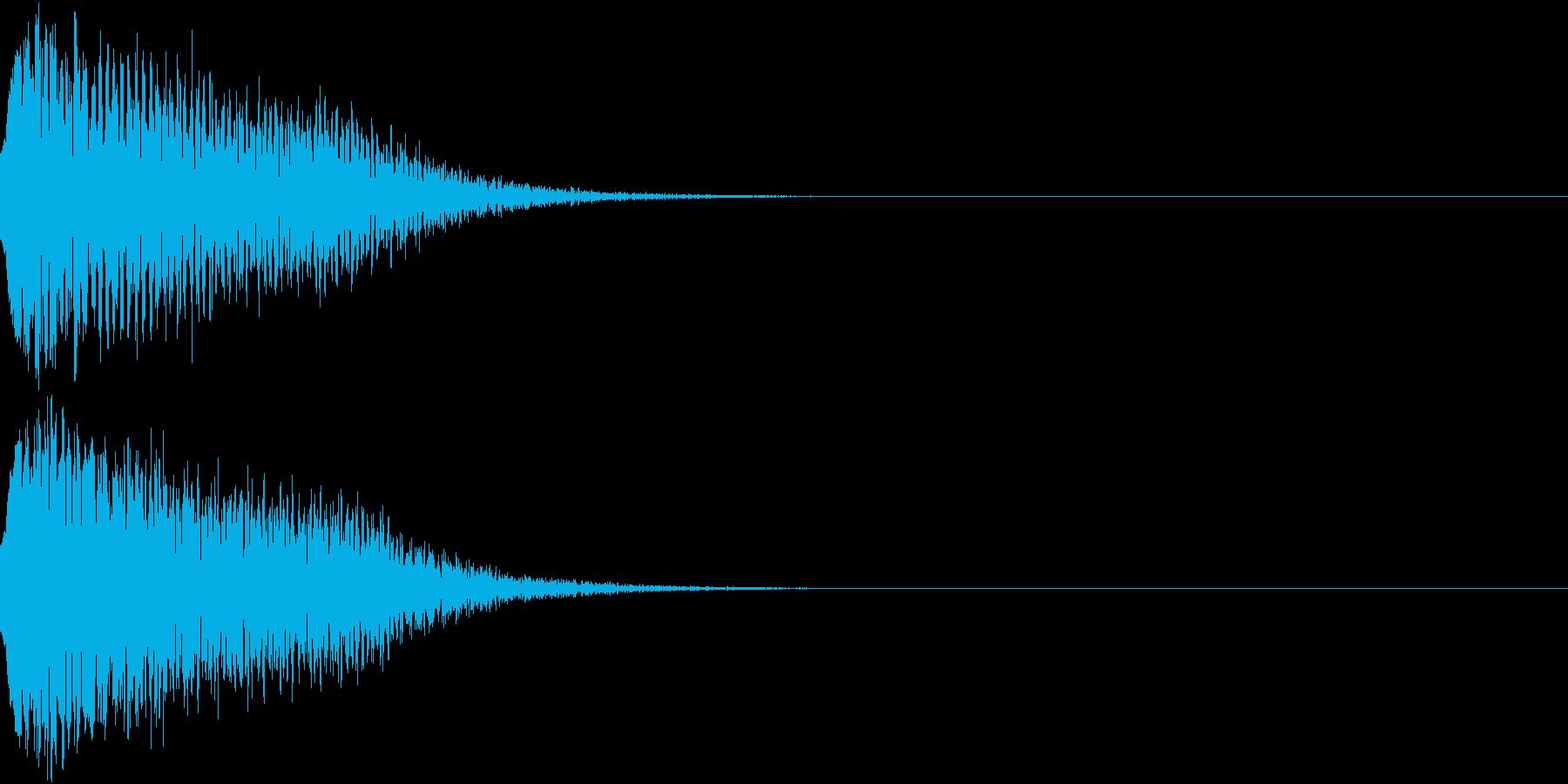 光る キュイーン ピカーン キラン 11の再生済みの波形
