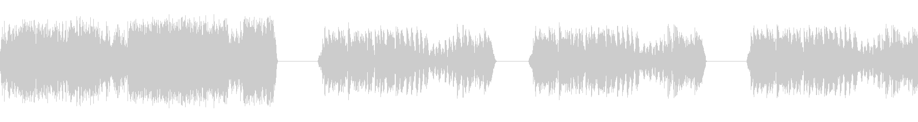 ラジオヒット3の未再生の波形
