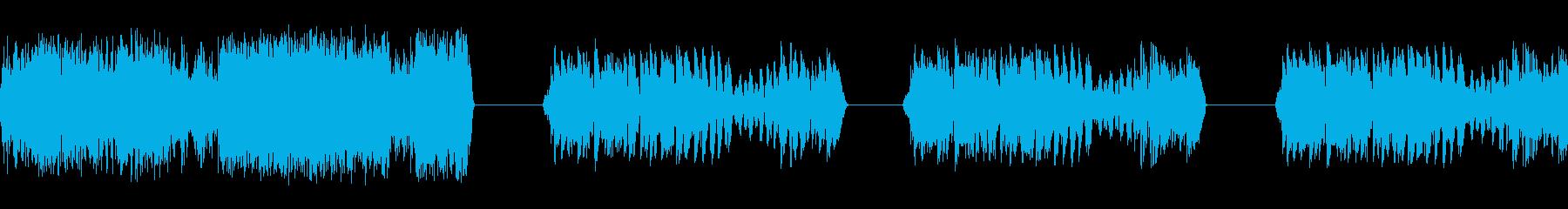 ラジオヒット3の再生済みの波形