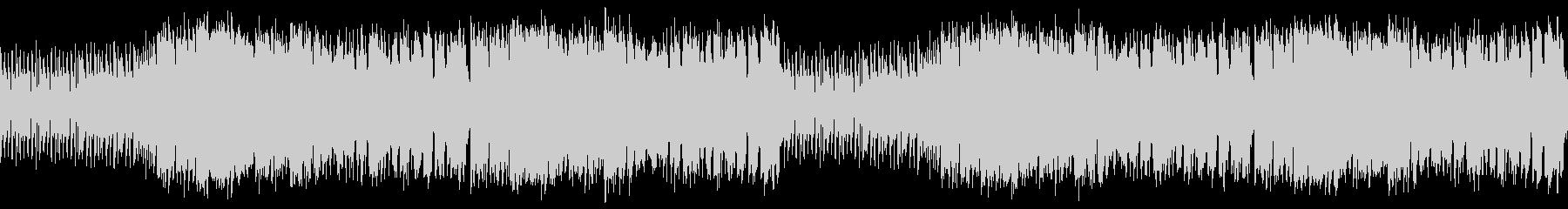 ループ素材 スタイリッシュジャズビートの未再生の波形