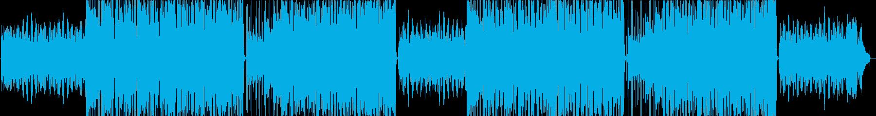 明るく楽しいほのぼのした日常曲の再生済みの波形