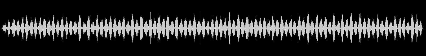 ギコギコ ノコギリで斬る04の未再生の波形