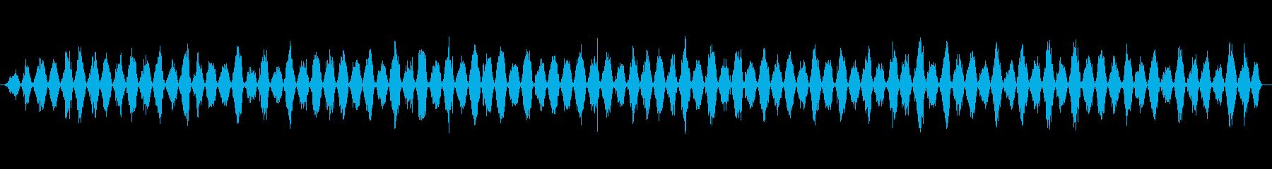 ギコギコ ノコギリで斬る04の再生済みの波形
