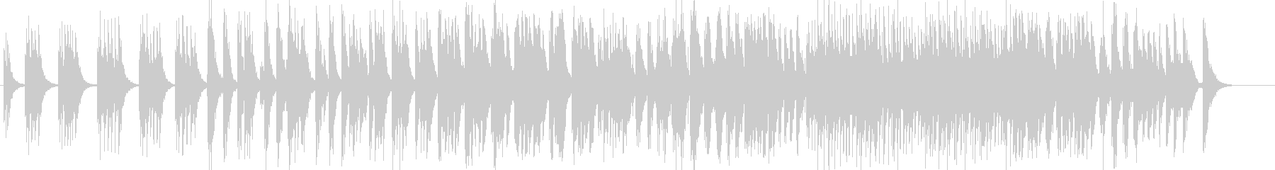 アフリカ固有のドラムでアフリカの音...の未再生の波形