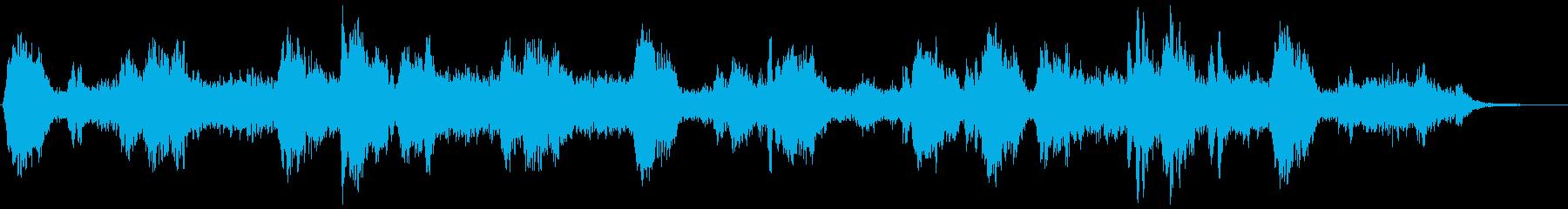 瞑想の時に聞きたい音楽の再生済みの波形