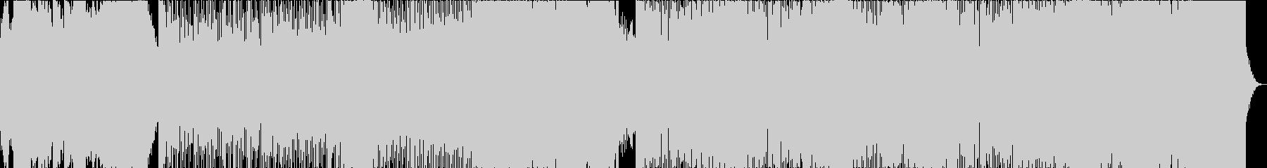 幻想的な記憶に残るBGMの未再生の波形