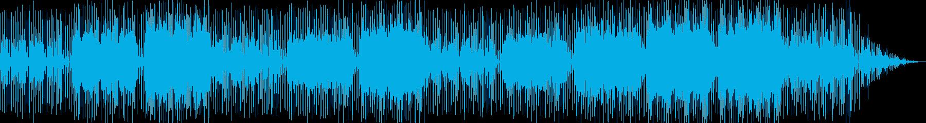 チルでアブストラクトなTech系BGMの再生済みの波形