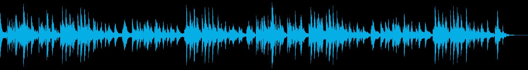 ジャズ風なピアノバラードの再生済みの波形