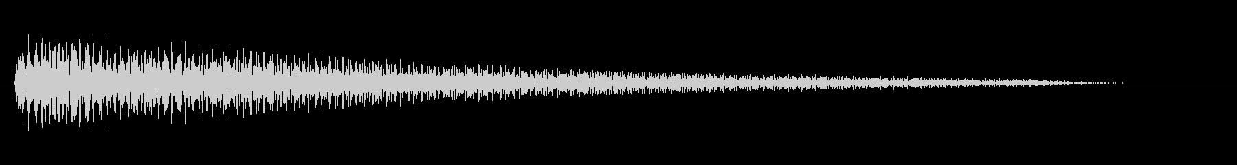 よくあるチャイム音風(オルゴール)2の未再生の波形