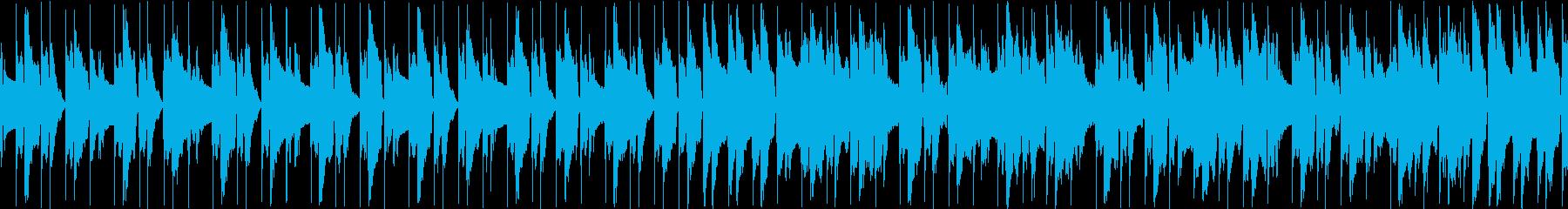 日常のほんわかした曲、パズルゲームの再生済みの波形