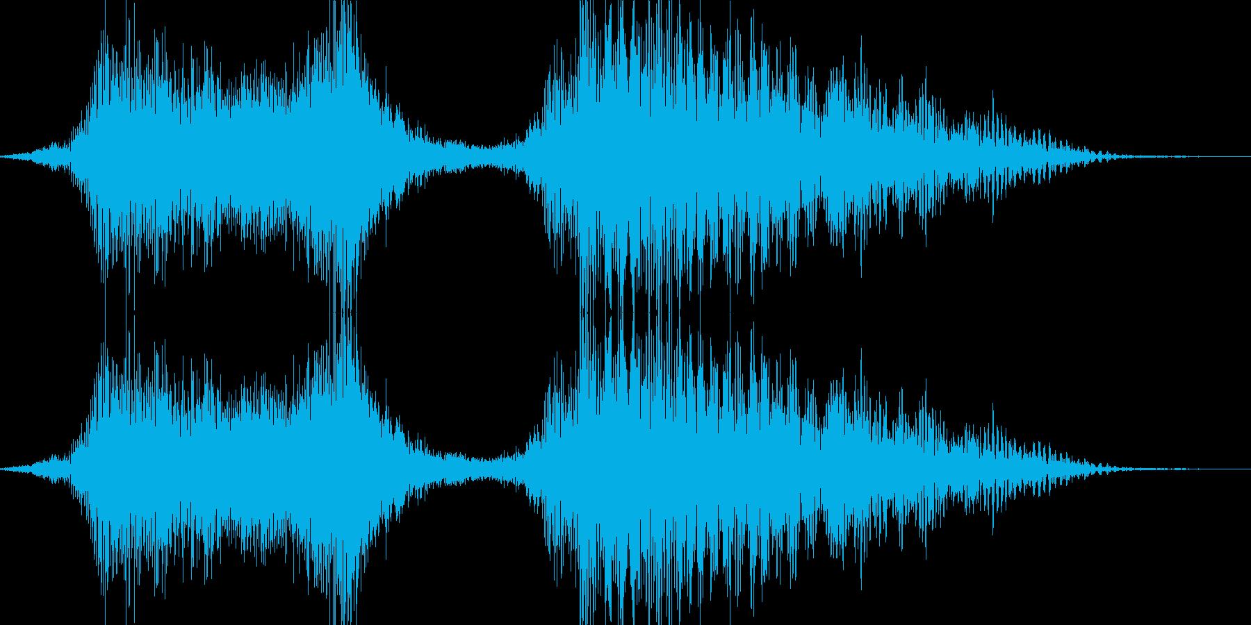 よいやっさー!(男女) 和風掛け声の再生済みの波形