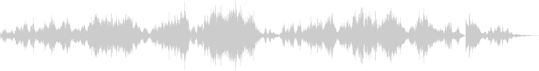 タイスの瞑想曲/ゆったりとした生演奏の未再生の波形